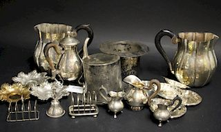 Mixed Lot of .800 Silver & Silverpate