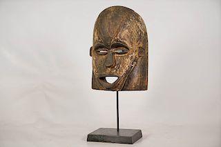 "Galoa Mask 10.5"" on Custom Stand"