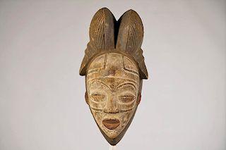 """Beautiful Punu Mask 12"""""""
