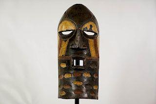 "Songye Style Face Mask 17.5"""