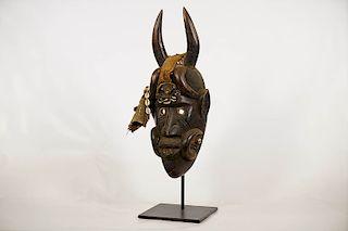 """Toma Mask 21"""" on Custom Stand"""