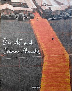 Complete set of 16 hand signed posters - Christo & Jeanne-Claude