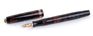 "Vintage 1929/1935 Fountain Pen Parker Duofold ""Burgundy"", lady's size"
