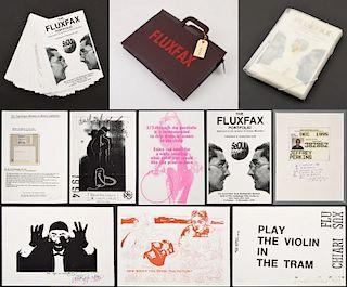 Fluxfax Portfolio, 35 Prints/35 Artists, Signed Edition