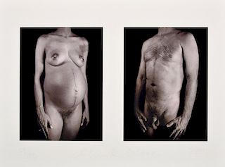 Chuck Close Nude Iris Print, Signed Edition