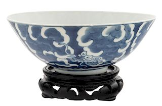 A CHINESE PORCELAIN BOWL FOR THE VIETNAMESE MARKET FROM AN IMPERIAL COLLECTION, QING DYNASTY, 1807-1847
