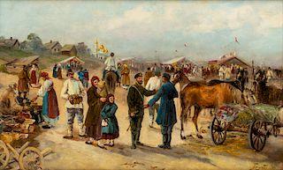 ZAKHAR PICHUGIN (RUSSIAN 1862-1942)