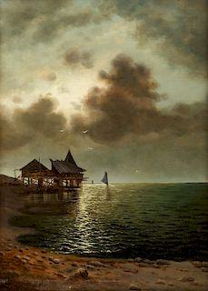 NIKOLAI DUBOVSKOI (RUSSIAN 1859-1918)