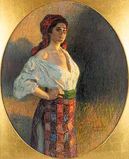 NIKOLAI BOGDANOV-BELSKY (RUSSIAN 1868-1945)