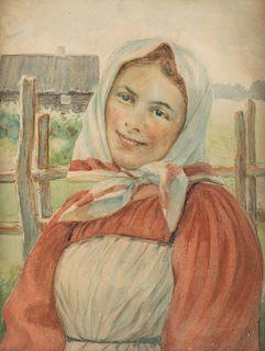 MIKHAIL GUZHAVIN (RUSSIAN 1888-1931)