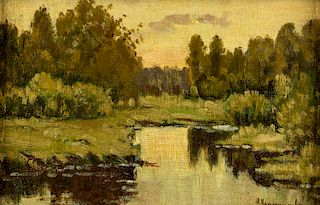 ALEXANDER LAZHECHNIKOV (RUSSIAN 1870-1944)