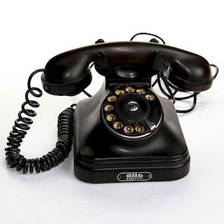 VINTAGE EUROPEAN BAKELITE TELEPHONE BHG BUDAPEST