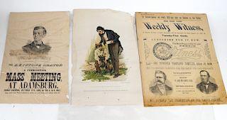 Suffrage Publications and Handbills