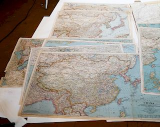 Vintage Maps, National Geographic - 20+ Items