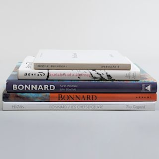 Group of Books Relating to Pierre Bonnard