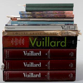 Group of Books Relating to Edouard Vuillard