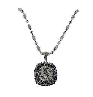 EFFY 14K Gold Diamond Pendant Necklace