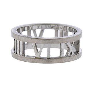 Tiffany & Co Atlas 18k Gold Band Ring