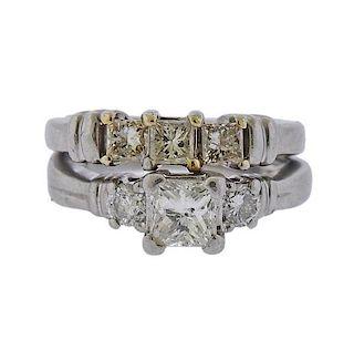 Platinum Diamond Bridal Ring Set