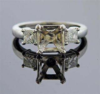 Platinum Diamond Engagement Ring Setting