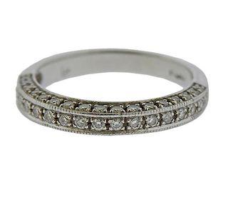 Platinum Diamond Wedding Band Ring