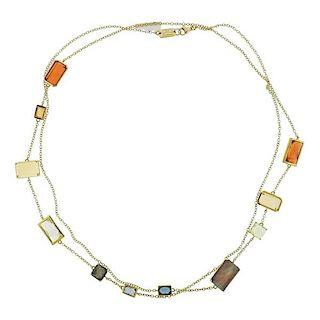 Ippolita Rock Candy Gelato Beverly 18k Gold Necklace