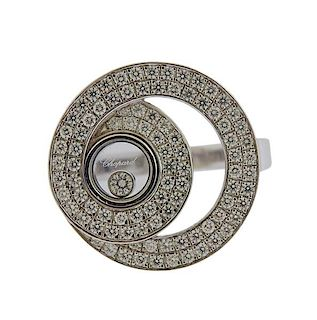 Chopard Happy Diamonds 18k Gold Ring