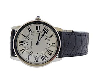 Cartier Ronde Solo Stainless Steel Watch 3603