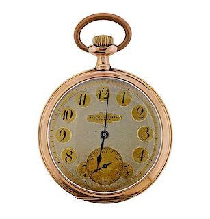 Audemars Freres Antique 14k Gold Pocket Watch