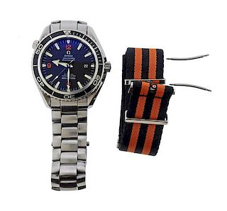 Omega Seamaster Co Axial Planet Ocean Chronometer Watch 2200.51.00