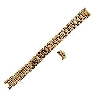 Rolex 18k Gold Jubilee Watch Bracelet