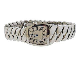 Cartier La Dona Stainless Steel Watch COWA0043