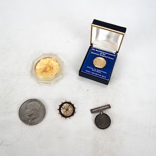 Bicentennial Gold Coin; Commemorative Medal; Other