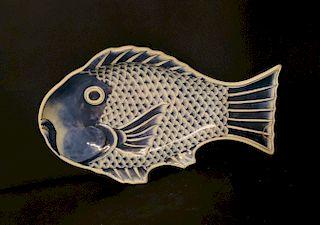 Large Imari Fish Platter
