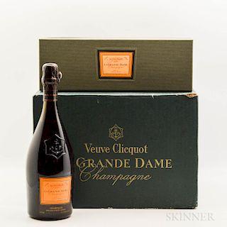 Veuve Clicquot La Grande Dame 1990, 6 bottles (oc & ind. pc)