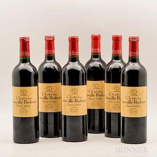 Chateau Leoville Poyferre 2003, 6 bottles