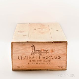 Chateau Lagrange 1989, 12 bottles (owc)