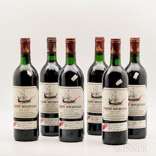 Chateau Beychevelle 1989, 6 bottles