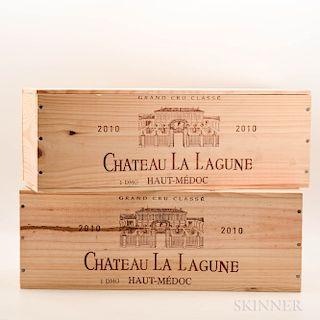 Chateau La Lagune 2010, 2 3 liter bottles (ind. owc)