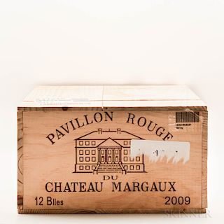 Pavillon Rouge du Margaux 2009, 12 bottles (owc)