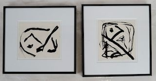 Alexander (Sasha) MARKOVICH: Two Abstracts - Ink