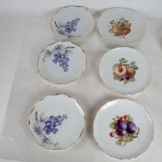 11 Porcelain Czech, Bavaria Plates