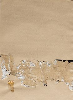 Alberto Burri (Città di Castello 1915-Nizza 1995)  - Paper, 1953/'54