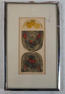 """Tomoe YOKOI: """"Reflections"""" 79/125- Lithograph"""