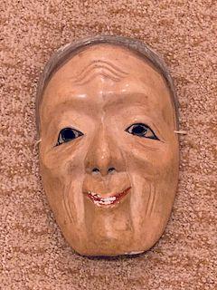 Noh Mask, Uba, 18th Century