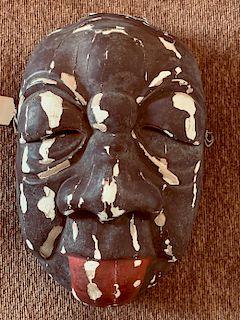 Haremen Mask by Deme Yasui, c.1760