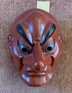 Sanju Bugaku Mask by Deme ToHachi