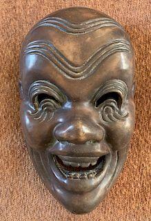 Porcelain Mask of Kotokaraku Heishitori, 19th Century