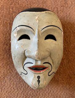 Bugaku Mask of Kotoriso, 17th Century