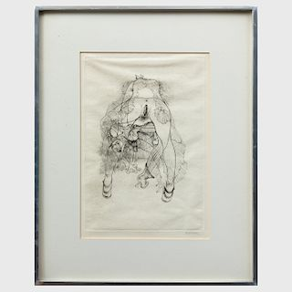 Hans Bellmer (1902-1975): Untitled, from Histoire de L'Oeil